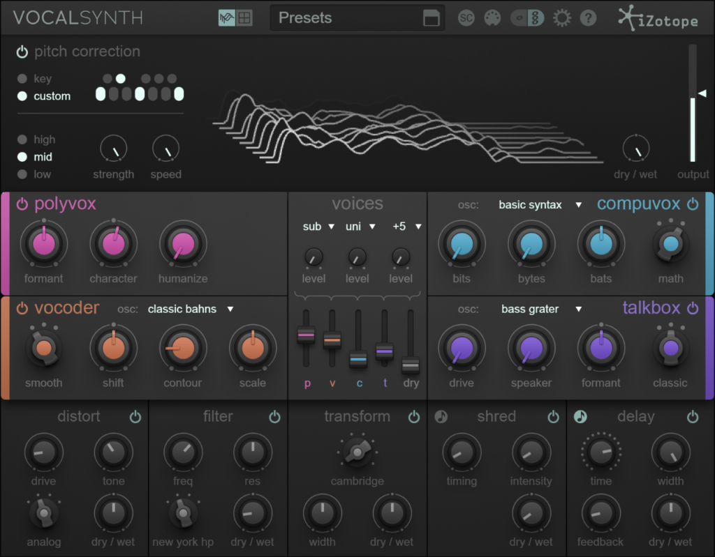 zotope vocal synth