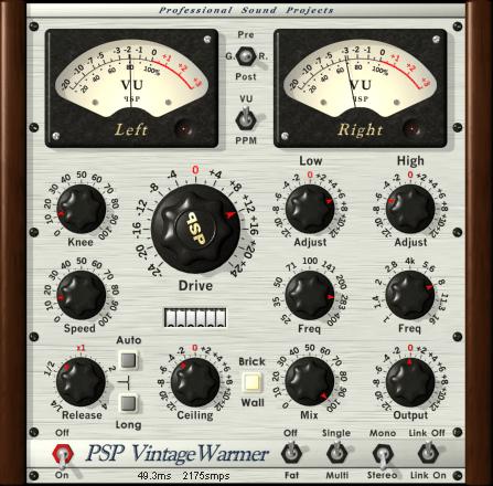 PSP Vintage Warmer: il miglior LIMITER Analog-Style