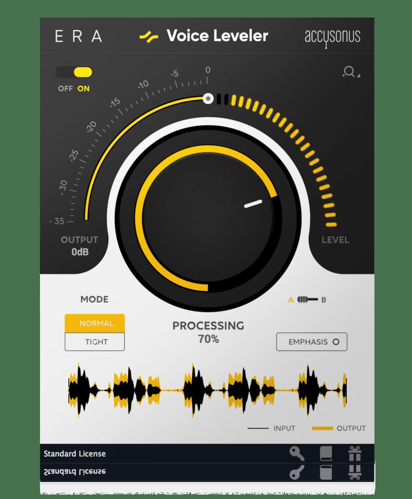 voice leveler produzione musica elettronica