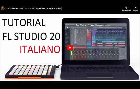 VIDEO CORSO FL STUDIO 20 – GUIDA IN ITALIANO (Lezioni)